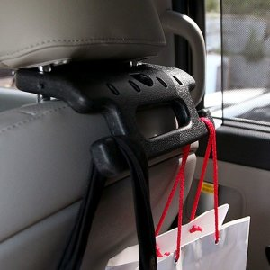 헤드레스트 멀티 가방걸이 자동차 실내 편의 몰딩용품
