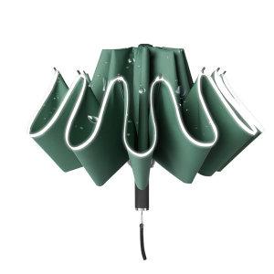 거꾸로 접는 튼튼한 대형 10K 고급 3단 완전 자동우산