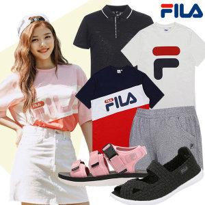 FILA 성인/아동 여름철 반팔티/신발/운동화/이지웨어
