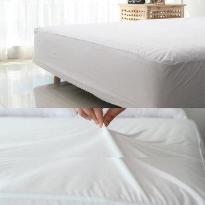 국내생산 / 자극없는 침대 방수 매트리스커버 K