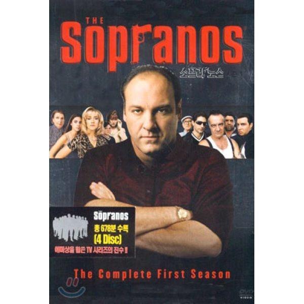 소프라노스 시즌 1 박스세트 (4Disc)  다니엘 아티아스  잭 벤더