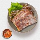 고급 돼지머리 편육 돼지내장 돼지부산물 뒷고기 1kg
