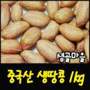 샘골마을  중국산-생땅콩 1kg