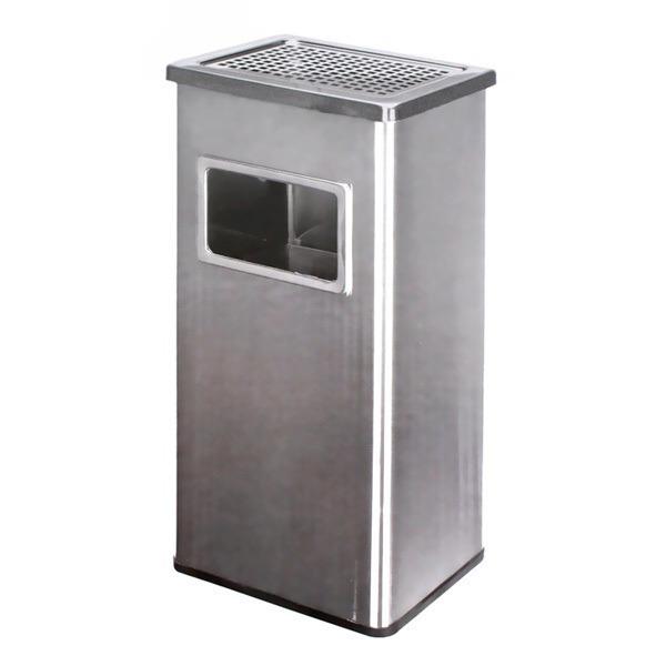 키친프리 스텐 사각 야외 휴지통 (대) /흡연실 업소용
