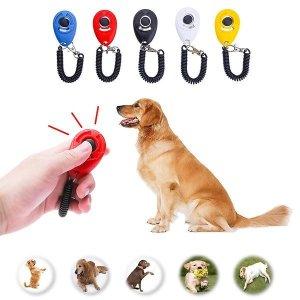 클리커 동물훈련.훈련용품.강아지훈련/색상랜덤발송
