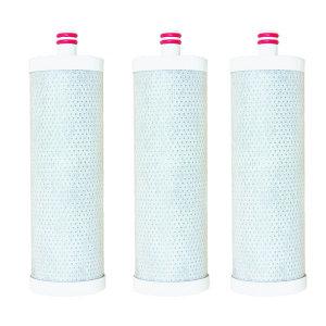 물도깨비 녹물제거필터 교환용 고급 숯필터 3개