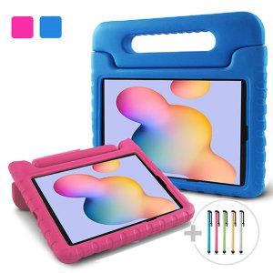 갤럭시탭S6 라이트 에바폼케이스:핑크+펜