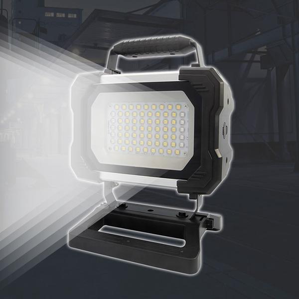 충전식 LED 작업등 스탠드타입(SWL-5000RAX) 이동식