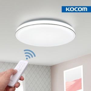 코콤LED 다빈 리모컨 원형 LED방등 60W 안방조명 국산