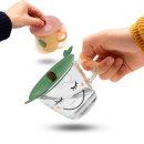 피쉬 실리콘 컵뚜껑 컵덮개 실리콘뚜껑 10cm
