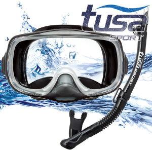 TUSA Sport 스노클링세트 UC-3325 BKBK