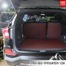 싼타페CM 전용 차박매트 트렁크+2열등받이 풀세트
