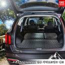 쏘렌토MQ4 (5인승) 전용 차박매트 트렁크+2열등받이