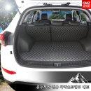 올뉴투싼 전용 차박매트 트렁크+2열등받이 풀세트
