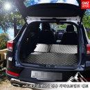 트레일블레이저 전용 차박매트 트렁크+2열 풀세트