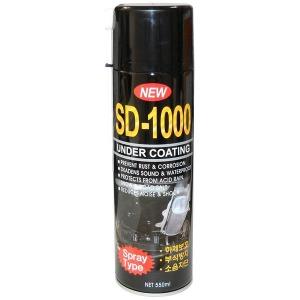언더코팅 스프레이 SD-1000 하체방음 방진 언더코팅제