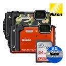 정품 W300S + 64GB 방수 디지털 카메라 디카 사은품