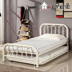 철제 이단 침대 DW102 DW152 슬라이딩 매트리스 포함