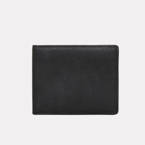 슈렁큰 소가죽 초 경량 슬림지갑(블랙)W23411