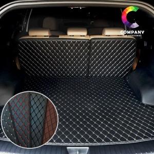 자동차 3D 퀄팅가죽 트렁크매트 풀세트 차박 카매트