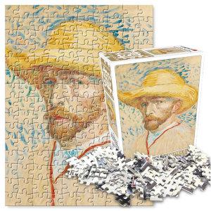 직소퍼즐 150피스 명화 밀짚모자를 쓴 자화상