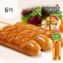 매콤 참숯훈제 닭가슴살 소시지 꼬치70g 6팩