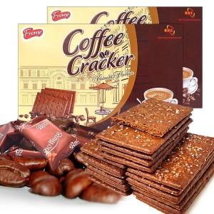 2박스 대용량 커피크래커 커피과자 쿠키