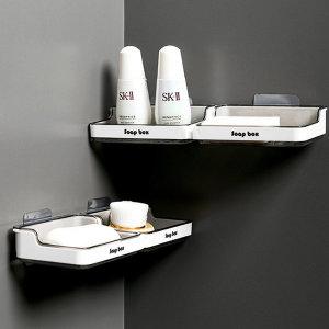 트윈 욕실 비누 받침 거치대 1+1