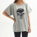여성 쭈리면 헬스복 오버핏 반팔티 요가 티셔츠 운동
