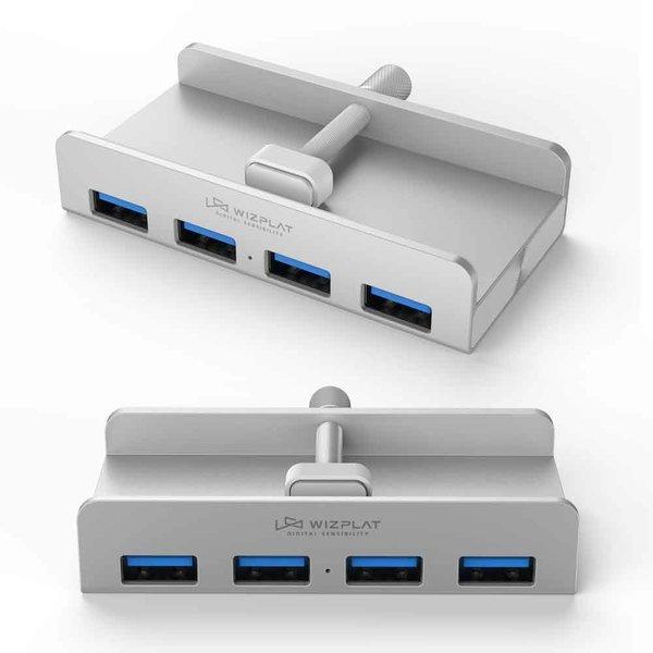 알루미늄 4포트 USB 3.0 허브 멀티 WIZ-H52
