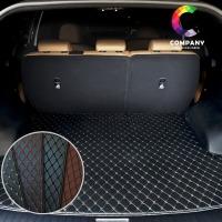 자동차 3D 퀄팅가죽 셀토스 트렁크매트 풀세트 카매트
