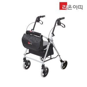 라온아띠 성인용 보행보조차 KCS-N508 실버카 할머니유모차 롤러레이터 효도선물