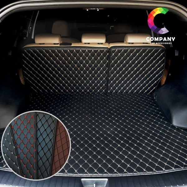 자동차 3D 퀄팅가죽 뷰티풀코란도트렁크매트 풀세트