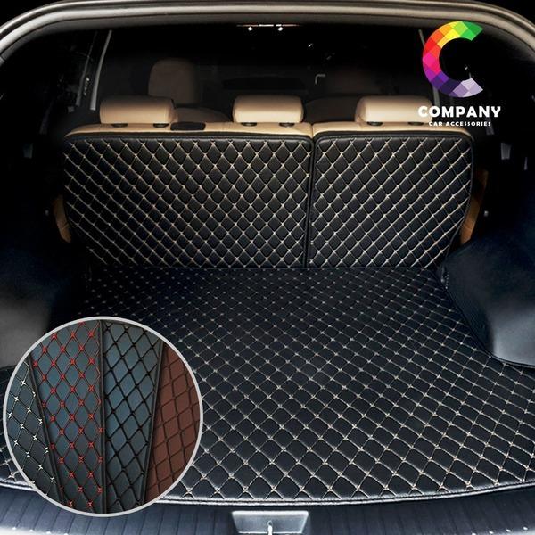 자동차 3D 가죽 팰리세이드 트렁크매트 차박 풀세트