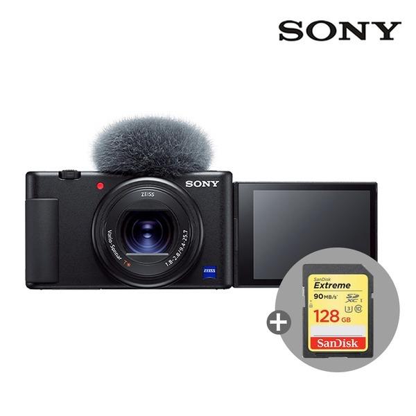 소니 브이로그 ZV-1 +128G메모리(4K지원)/공식대리점e