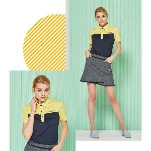 반팔셔츠 골프티셔츠 반팔티 여성 골프티셔츠(블랙)