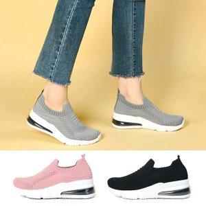 삭스슬립온 에어운동화 여자신발 밴딩슬립온 SL327