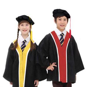 어린이집 유치원 졸업가운 세트 (베레모)
