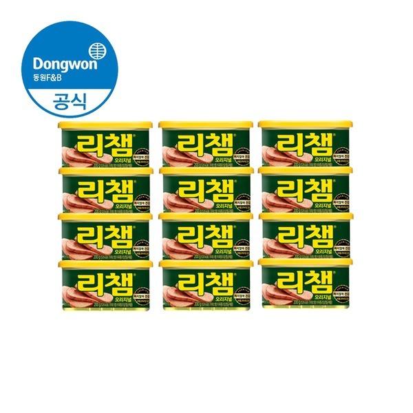 동원 리챔 (햄/통조림) 200g x 12캔
