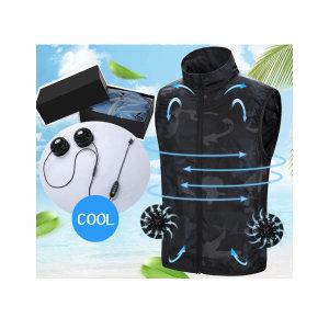 여름작업복조끼 선풍기조끼 USB냉풍조끼 바람조끼 쿨