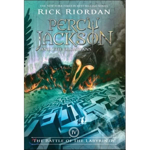 Percy Jackson and the Olympians  4 : The Battle of the Labyrinth  Rick Riordan