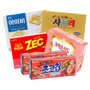 과자세트 탕비 간식 캔디 파이 비스켓 스낵/아이비