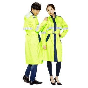 남자 우비 낚시 우의 등산 비옷 여성 형광 레인 코트