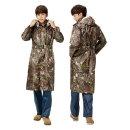 남자 우비 낚시 우의 등산 비옷 디지털무늬 레인코트