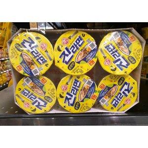 (신세계의정부점)오뚜기 진라면 소컵(순한맛) 65g 6개입