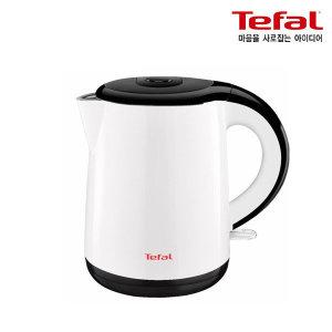 테팔(가전)  전기주전자 세이프티 1L 화이트앤블랙_KO2611/KO2611KR