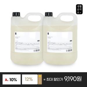 생활공작소 주방세제 4L x 2입 쌀뜨물향 친환경1종