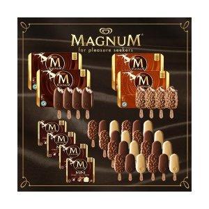 매그넘  ( 아이스크림)매니아구성 총40개_미니24개+아몬드8개+클래식8개