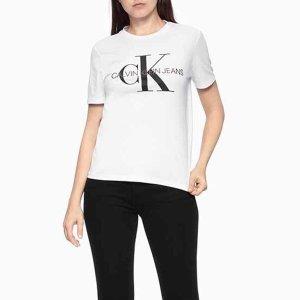 CKJ  여성 로고티셔츠(J215219)