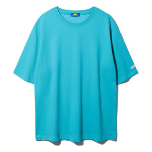 남자 여자 빅사이즈 무지 오버핏 반팔 티셔츠 8컬러